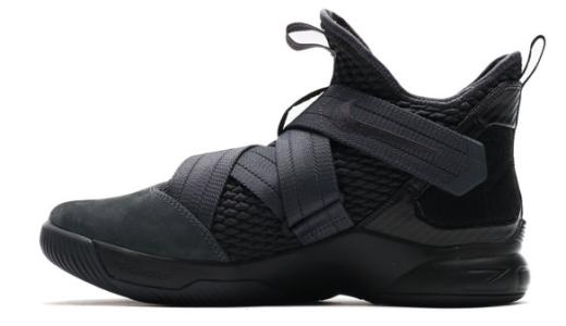 【ナイキ】LEBRON SOLDIER(レブロンソルジャー) 12が発売開始。今回も靴紐がないタイプ。