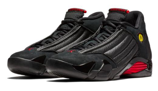 """【NIKE】The Air Jordan 14 """"Last Shot""""がリリース、フェラーリのエンブレムが!!"""
