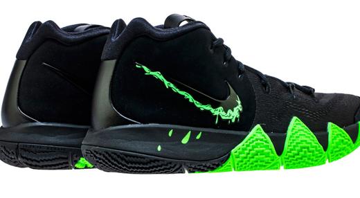 """【Nike】 Kyrie 4 """"Halloween""""モデルが登場!!swooshもかなり個性的なデザイン"""