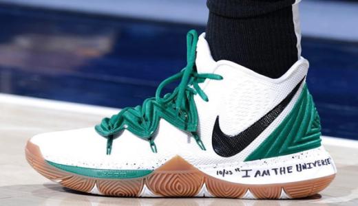 "【Nike】 Kyrie 5(カイリー5) ""Celtics"" PEが登場しました。ミッドソールには"