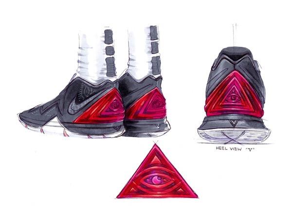 Nike kyrie 5 sketches ben nethongkome 11