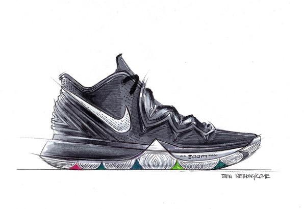 Nike kyrie 5 sketches ben nethongkome 3
