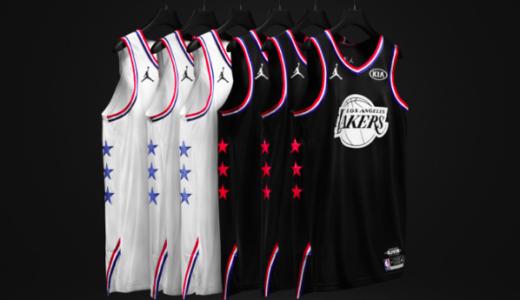 2019 NBA All-Star Gameのユニフォームがジョーダンブランドにより公開されたようです。