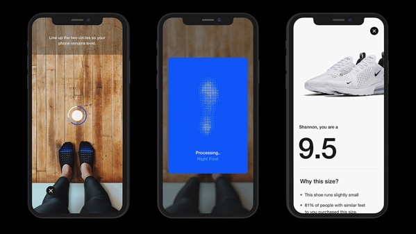 Nike fit shoe size app 4