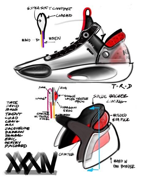 Jordan 34 sketch 3