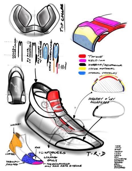 Jordan 34 sketch 5