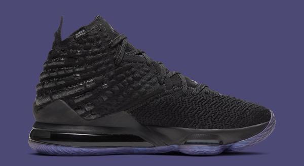 Nike lebron 17 vii currency bq3177 001 medial