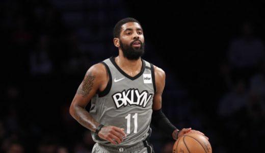BrooklynNetsのポイントガードKyrie Irvingが肩の怪我のため今シーズン出場できないとの事。