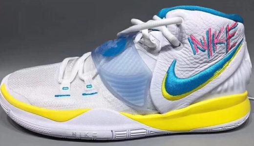 Nike Kyrie 6の新しいデザインは80年代を彷彿させる、どこか懐かしいデザイン。