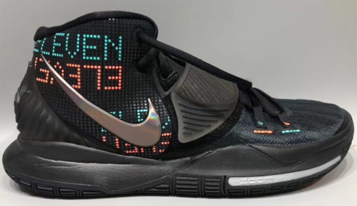 """Nike Kyrie(カイリー)6 """"Eleven""""が登場。LEDのようなデザインが特徴。"""
