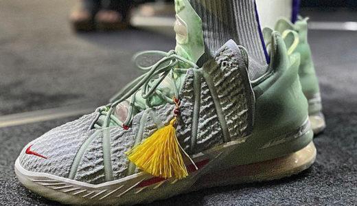 Nike LeBron 18の特徴、spec詳細をまとめました。レブロンの新作バッシュ